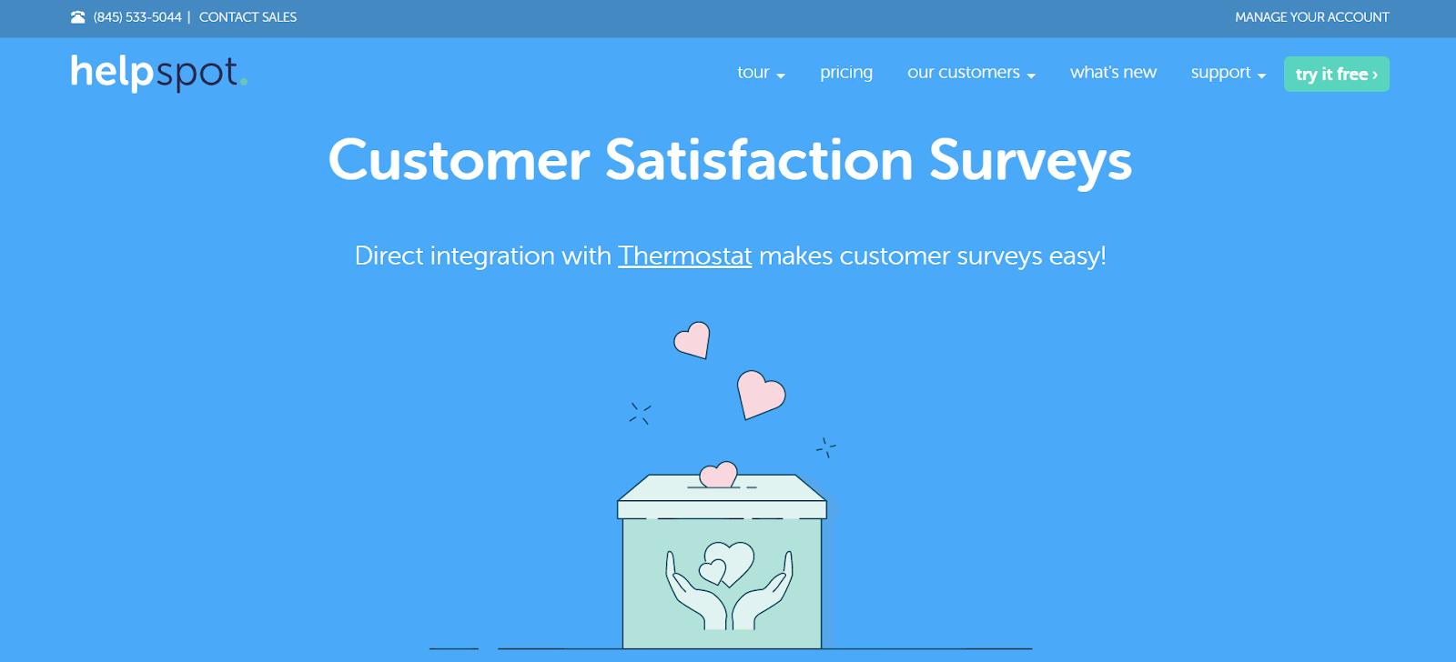 HelpSpot Customer Satisfaction Surveys